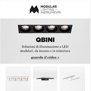 Illuminazione LED da incasso, modulare e in miniatura