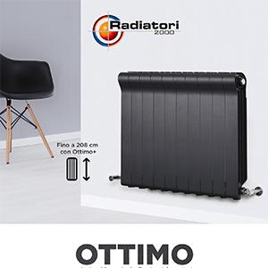 Ottimo: radiatore pressofuso in alluminio by Radiatori 2000