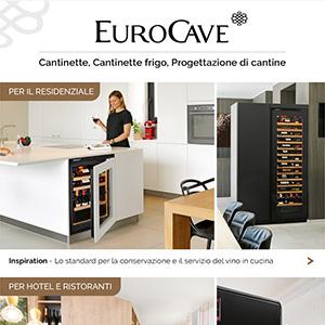 Cantinette frigo e dispenser EuroCave per il residenziale e l'Horeca