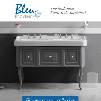 Collezioni bagno Bleu Provence: lo specialista del retrò