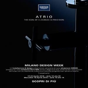 Atrio: l'icona di eleganza e stile by Grohe