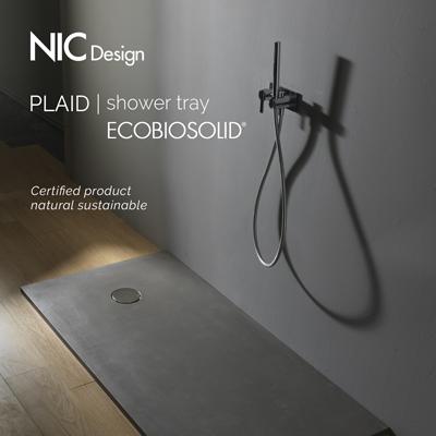 Piatti doccia naturali ed ecosostenibili by Nic Design