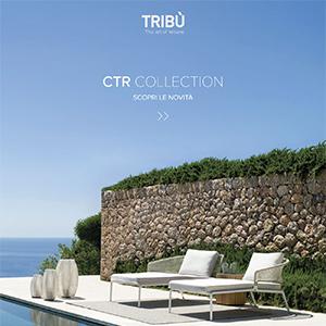 Sedute outdoor Tribù: scopri CTR collection, design Piergiorgio Cazzaniga