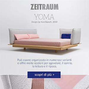 Yoma by Zeitraum: la reinterpretazione del letto futon
