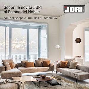 Sedute contemporanee JORI al Salone del Mobile 2018