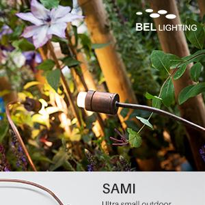 Illuminazione per esterni in rame orientabile e flessibile BEL Lighting