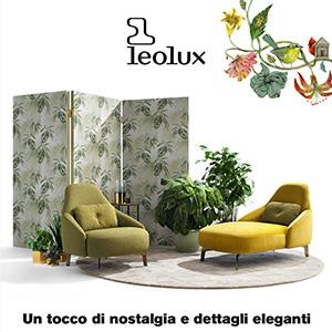 Sedute Jill by Leolux: dettagli eleganti con un tocco di nostalgia