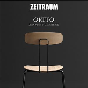 Zeitraum: sedute minimali in legno massello fresato CNC OKITO