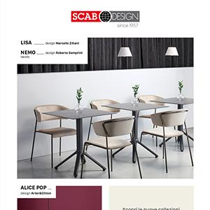 Il mondo della sedia si arricchisce di nuove creazioni - Scab Design