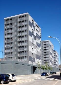 Tre edifici residenziali a Terrassa, Barcellona
