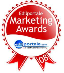 Annunciate le nomination per gli Edilportale Marketing Awards 2008