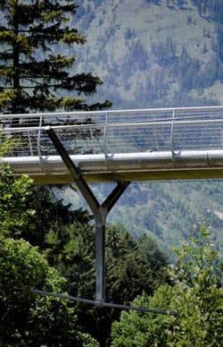 A Ortisei un ponte pedonale per l'ambiente