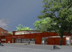 Albinea presenta la Biblioteca Pablo Neruda