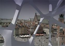 Un design algoritmico nel centro di Varsavia