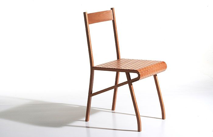 The Shimmer Chair and Table, designed by Gary Marinko