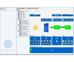 Controllo continuo con i sistemi di monitoraggio per inverter Conergy Central