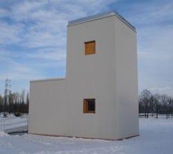 CUBOTTO: primo prototipo di edificio sostenibile realizzato con tecnologia stratificata a secco