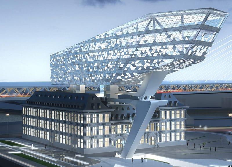 Zaha Hadid per la capitaneria di porto di Anversa