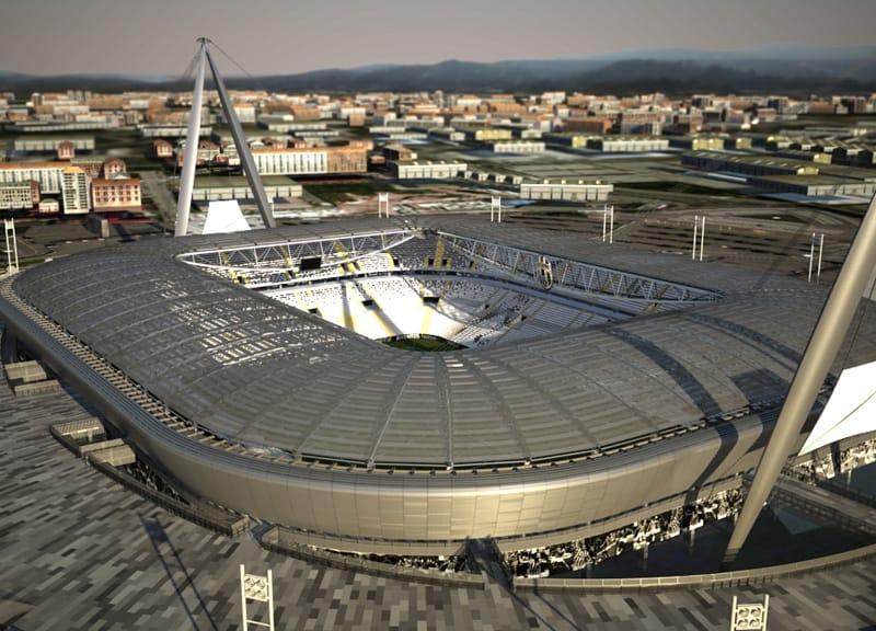 Torino: questo mese lavori al via per il nuovo stadio Juventus