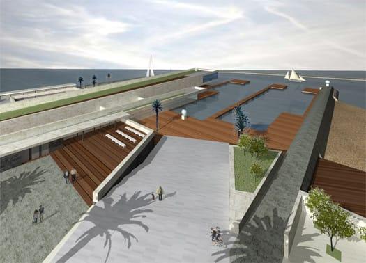 Bari: S.T.S. per il waterfront di San Girolamo - Fesca