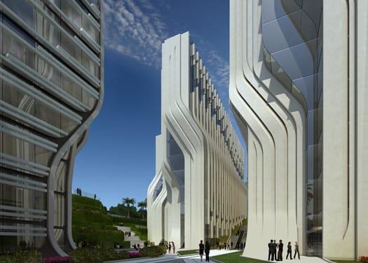 Zaha Hadid progetta le Stone Towers per il Cairo