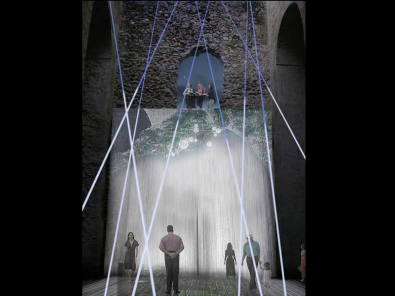 Mostra Installazione a Villa Rufolo © Centola&Associati