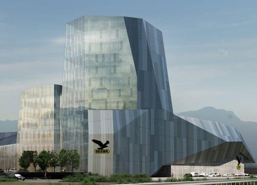 Zucchi e Park Associati per la nuova sede Salewa a Bolzano