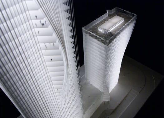 BIG progetta un grattacielo - origami a Shenzhen