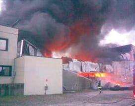 Incendio alla Pontarolo Engineering