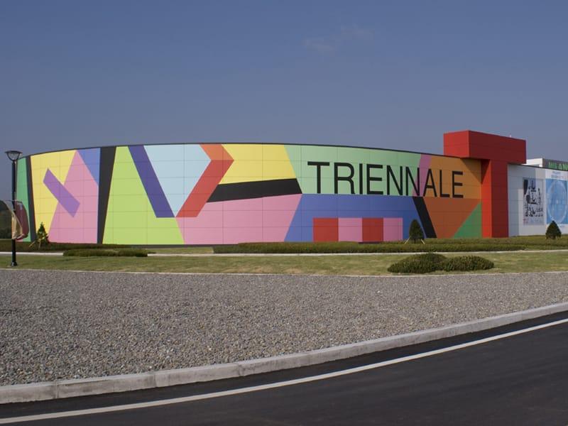 ABET LAMINATI ricopre di colori la Triennale di Milano a Incheon