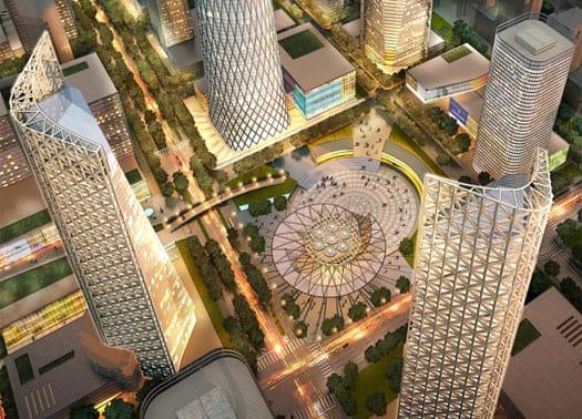 3 quartieri verdi nel cuore finanziario di Pechino