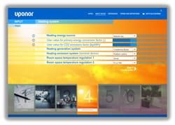 Uponor presenta il Tool di comparazione di emissioni di CO2 e consumi energetici