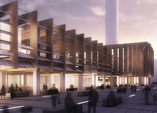 Treviglio: una grande pergola fotovoltaica per il nuovo centro polifunzionale