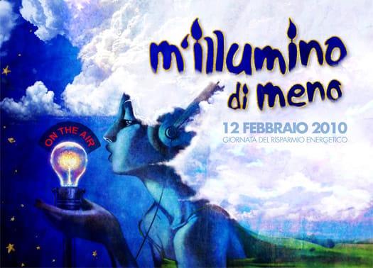 Al via oggi 'M'illumino di Meno 2010'