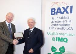BAXI ottiene la certificazione EPD, Dichiarazione Ambientale di Prodotto