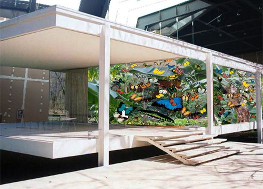 Una 'Farnsworth House per farfalle' vince Enel Contemporanea 2010