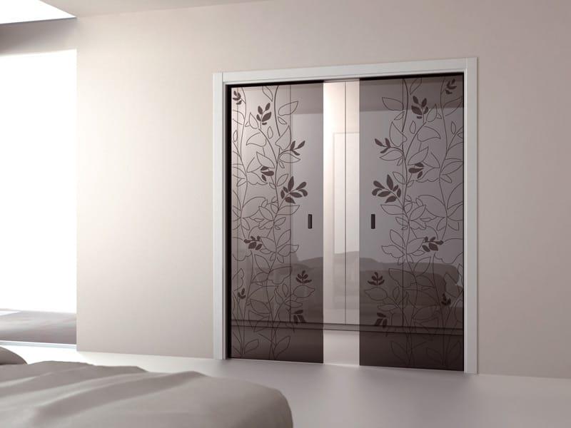 Nuova gamma di decori per le porte tutto vetro ECLISSE