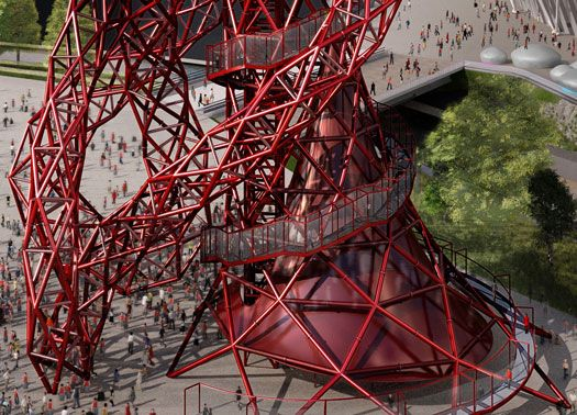 The Arcelor Mittal Orbit: scultura-narghilè per Londra 2012