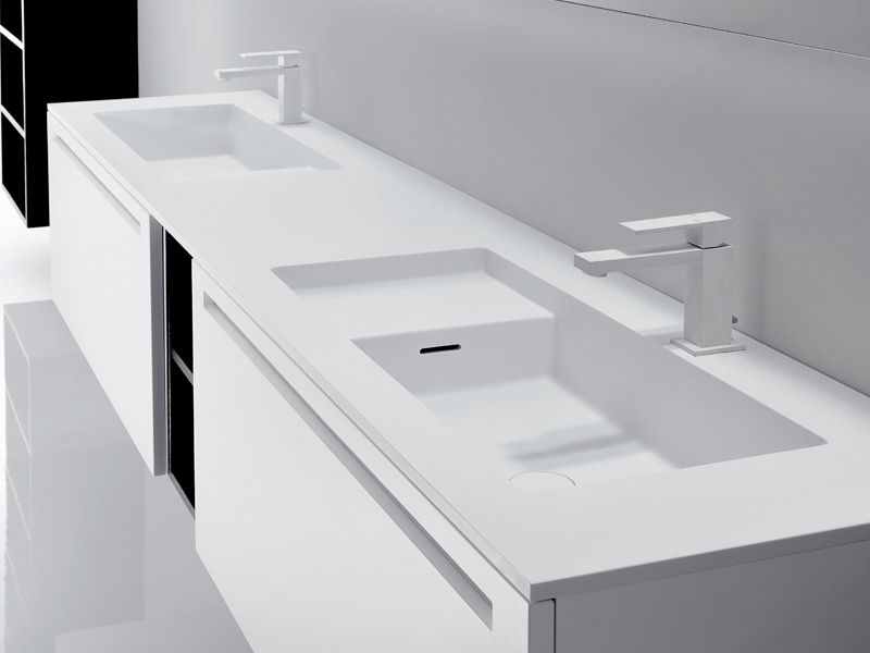 Mobile Doppio Lavabo Misure.La Collezione Via Veneto By Falper Design