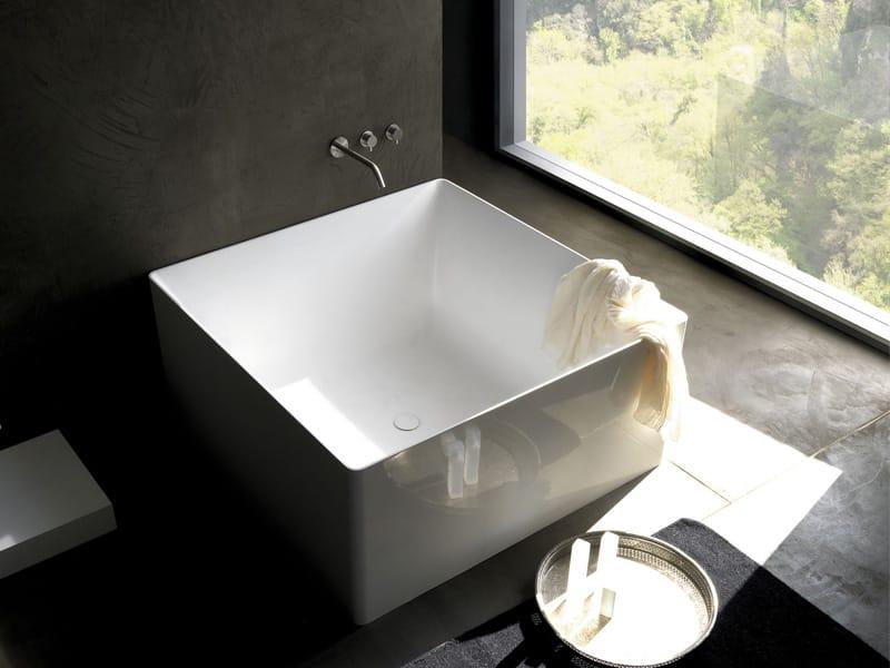 Vasca Da Bagno Quadrata : Arial flora style vasca da bagno centro stanza quadrata edil