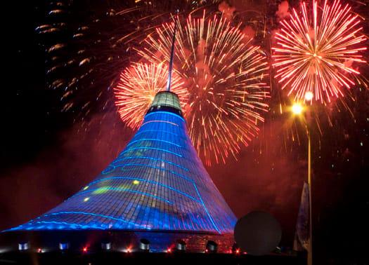 Astana inaugura il Khan Shatyr, la tenda più alta del mondo