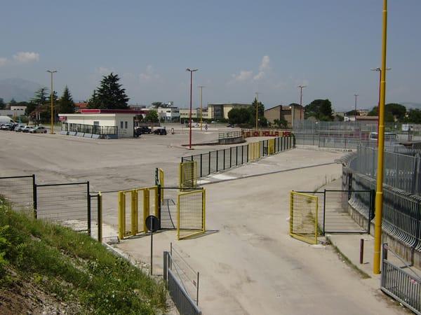 Nylofor 2D SUPER Betafence per lo Stadio di Benevento