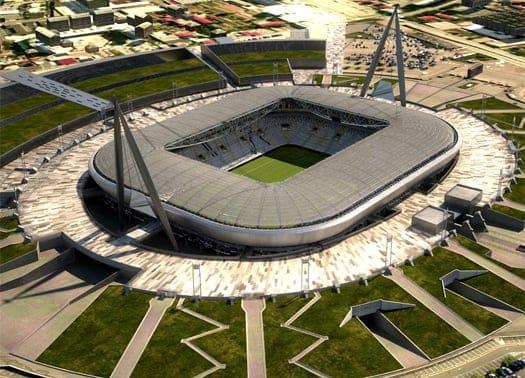 Nuovo stadio Juventus: pronto il varo della copertura