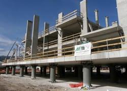 Il sistema pluripiano iperstatico di APE porta il futuro nei cantieri edili
