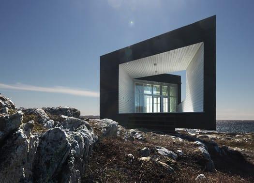 The Long Studio: una casa per artisti sull'Atlantico