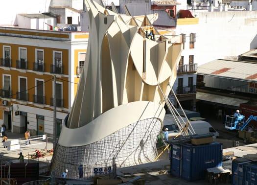 Siviglia: 'i parasol' contemporanei di J. H. Mayer