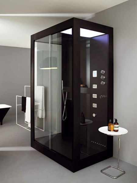 Avec, la cabina doccia di Kos