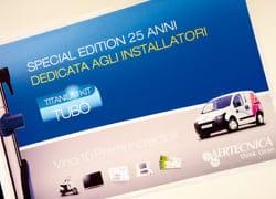Premiati a Cesena i vincitori del concorso Titanium Kit Tubò di Aertecnica