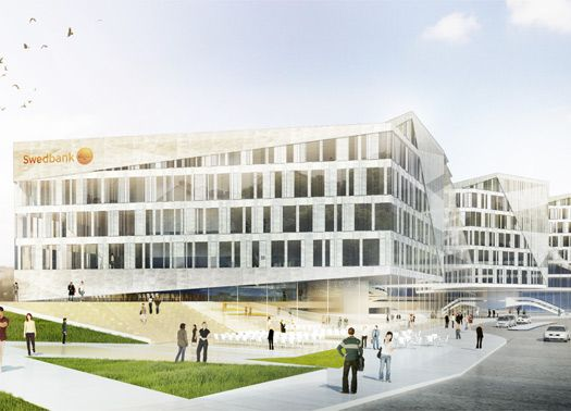3XN per gli Uffici Internazionali della Swedbank
