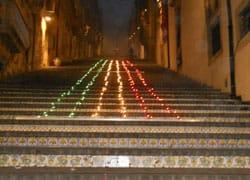 Isofoton Italia accende il tricolore a Caltagirone